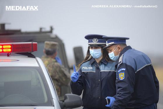 Încă un şofer împuşcat de poliţişti după o urmărire ca-n filme în Prahova