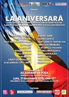"""""""LA ANIVERSARĂ"""", primul concert folk dedicat eroilor Revoluției"""