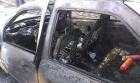 Accident in Buzau: Un barbat a murit carbonizat, altul este in stare grava la spital