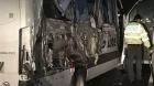 Accident pe A1, un microbuz plin cu oameni s-a ciocnit cu o dubă. O femeie a murit, alte şase persoane au fost rănite