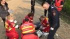 Bărbat, scos din râul Dâmbovița de un paramedic. În ce stare se află