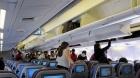 Bătaie în avion, pe Aeroportul Otopeni. Imagini incredibile