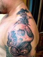 Cel mai tatuat om din lume vine în România
