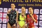 Cupa Mondiala de la Doha: Cătălina Ponor, medalie de argint la bârnă