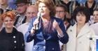 Discursul Rovanei Plumb i-a miscat pe simpatizantii PSD la mitingul de la Iasi