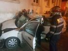 Doi tineri au murit într-un grav accident, una dintre maşini s-a oprit în sediul ISU Constanţa