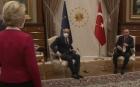 """Erdogan nu da doi bani pe femei. Şefa CE Ursula Von der Leyen lăsată în picioare la întâlnirea cu """"califul"""" Turciei"""