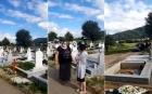 """Familia unui bărbat mort de COVID-19 a desigilat sicriul: """"A murit de cancer şi ei ne obligă să-l îngropăm aşa ca să ia bani"""""""