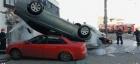 Galați: Explozie lângă un hotel. Mai multe mașini au fost aruncate în aer!