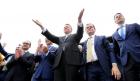 Liberalii, miting de final de campanie, în Piaţa Victoriei, alături de Klaus Iohannis