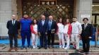 Lotul de judo al României, condus de Cozmin Gușă, sărbătorește 1 Decembrie în Japonia