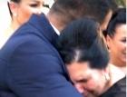 Mama lui Florin Pastrama a plans in hohote la nunta fiului sau