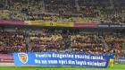 Mesajul emoționant apărut pe stadion în timpul meciului România - Norvegia