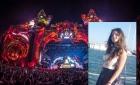 """Moment emoționant la UNTOLD. Un DJ de renume mondial i-a dedicat o melodie Alexandrei: """"Ne vei lipsi, nu vei fi uitată, oriunde ai fi"""""""