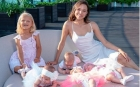 O tânără de 23 de ani, care creşte deja 10 copii, vrea să ajungă la 105 copii biologici cu soţul ei milionar
