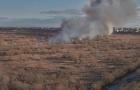 Pompierii în alertă! Incendiu în Delta Văcărești din Capitală. Ard 20.000 mp cu vegetație
