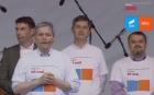Primul miting electoral al Alianței USR-PLUS s-a dovedit a fi un fiasco
