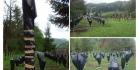 Pungi de gunoi pe crucile eroilor români din cimitirul de la Valea Uzului
