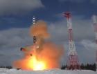 Rusia a testat noua racheta balistica Sarmat, care poate lovi tinte de oriunde din lume