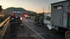 Tragedie pe A1. O mamă a murit, copiii și soțul, în stare gravă la spital
