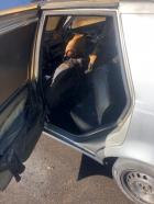 Un bărbat și-a dat foc la mașină, în fața sediului Serviciului Rutier Constanța. De ce a recurs la un asemenea gest