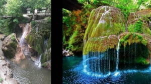 Afaceri ruinate: Cascada Bigăr s-a prăbușit! S-a năruit o minune din patrimoniul natural cu recunoastere universală