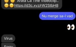 """CERT-RO: Nu deschideţi link-uri primite pe Facebook Messenger, cu mesajul """"Apari în acest video"""
