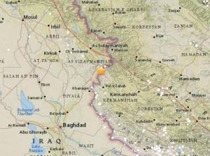 Cutremur cu magnitudinea de 7,3, la graniţa dintre Iran şi Irak, resimţit şi în Turcia, Qatar şi Israel