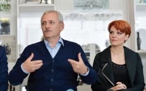Dispută între Dragnea şi Olguţa Vasilescu pe legea pensiilor. Liderul PSD, nervos că trebuie să prezinte legea în seara în care joacă FCSB