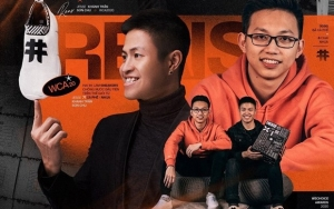 Doi tineri din Vietnam au realizat primii adidași din lume din zaț de cafea