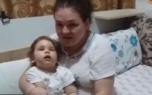 Drama micuței Anastasia, fetiţa care n-a cunoscut bucuria de când a venit pe lume