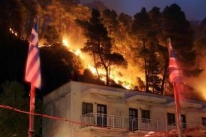 Episcop ortodox: Incendiile din Grecia, pedepsa lui Dumnezeu pentru că premierul e ateu