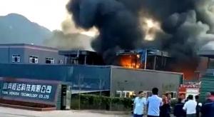 Explozie uriasa la o uzină chimică din China. Cel puțin 19 oameni au murit