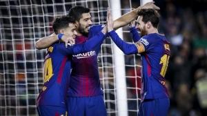 Fiesta pe Camp Nou: Barcelona se califică în semifinalele Cupei Spaniei după 6-1 cu Sevilla