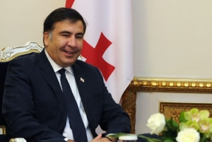 Fostul presedinte georgian Mihail Saakasvili, arestat cu mascati intr-un apartament din Kiev
