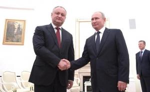 Igor Dodon: Relațiile dintre Republica Moldova și Rusia vor fi duse la un nou nivel în 2019