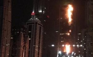 Incendiu la zgârie-norul Torch Tower din Dubai