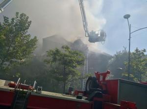 Incendiu în camera unei vile din cartierul Primăverii