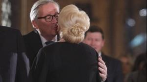 Juncker și comisarii UE, întâlniri cu Iohannis și Dăncilă. Dragnea cu valizele
