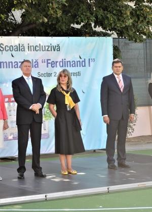 Klaus Iohannis a ales sectorul 2 pentru festivitățile de deschidere a noului an școlar