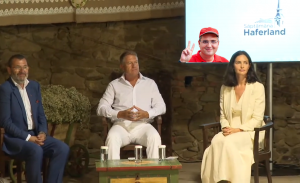 Klaus Iohannis și-a întrerupt vacanța pentru a participa la un eveniment organizat de cumnatul unui interlop!