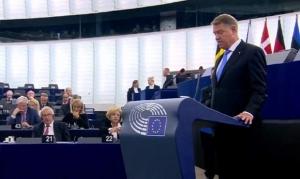 Klaus Iohannis, în Parlamentul European: