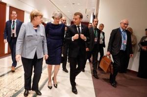Macron afirmă că soluția pentru depășirea impasului pe tema Brexit este la Londra