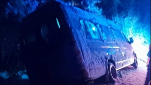 Microbuz cu 15 adolescenţi, implicat într-un accident rutier grav în Vrancea