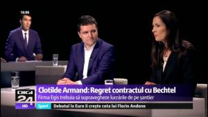 Ministrul Drulă, bani pentru firma franțuzească pe care a condus-o Clotilde Armand