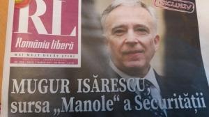 Mugur Isarescu a turnat la Securitate sub numele de cod