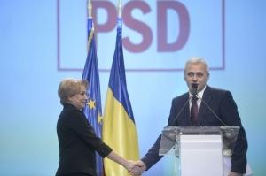 Noua conducere a PSD: Viorica Dăncilă - preşedinte executiv, Marian Neacşu - secretar general. Lista completă a vicepreşedinţilor