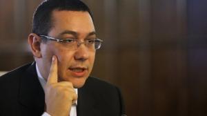 Ponta, după congresul TSD: Azi se vorbește de pirați cu inculpați și baroni locali