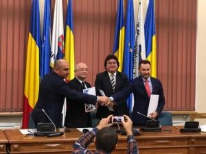 Primarii din Timişoara, Cluj, Arad şi Oradea au înfiinţat Alianta Vestului. AVE Boc: Nu este un proiect de separatism teritorial!