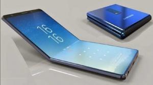 Samsung a prezentat în premieră un mult-aşteptat telefon pliabil